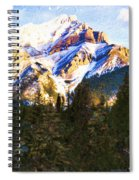 Another View Of My Mountain Spiral Notebook