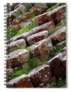 Another View Of The Giant's Causeway Spiral Notebook