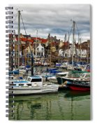 Anstruther Harbour Spiral Notebook