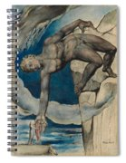 Antaeus Setting Down Dante And Virgil In The Last Circle Of Hell Spiral Notebook