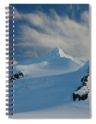 Antarctic Landscape Spiral Notebook