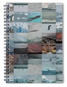 Antarctic Mosaic Spiral Notebook