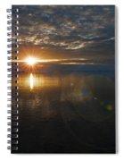 Antarctic Twilight... Spiral Notebook