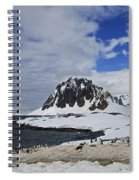 Antarctic Wilderness... Spiral Notebook