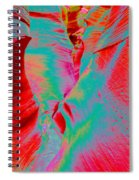 Antelope Canyon Abstract Spiral Notebook