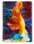 Antelope Canyon Light Spiral Notebook