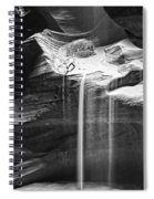 Antelope Canyon Sand Fall Spiral Notebook