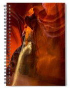 Antelope Canyon - Sand In The Light Spiral Notebook