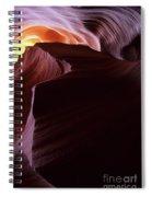 Antelope Canyon Sandstone Magic Spiral Notebook