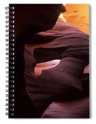 Antelope Canyon Touch Of Magic Spiral Notebook