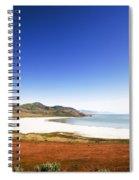 Antelope Island And Utah Vertical Spiral Notebook