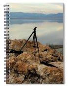 Antelope Island Sunset - 3 Spiral Notebook