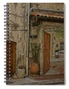 Antibes France Scene Paintings Dsc02278  Spiral Notebook