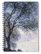 Antibes Seen From The Salis Spiral Notebook