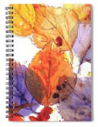 Anticipating Autumn Spiral Notebook