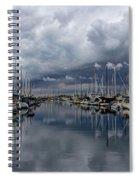 Anticipating Rain Spiral Notebook