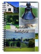 Antietam Collage Spiral Notebook