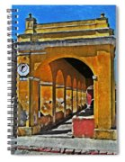 Antigua Arches Spiral Notebook