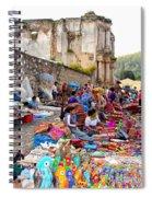 Antigua Guatemala Spiral Notebook