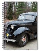 Antique Auto Spiral Notebook