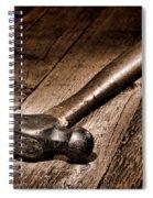 Antique Blacksmith Hammer Spiral Notebook
