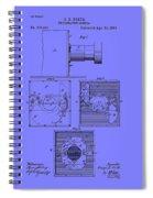 Antique Camera Patent 1883 Spiral Notebook