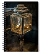 Antique Carriage Lamp Spiral Notebook
