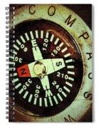 Antique Compass Spiral Notebook
