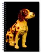 Antique Dog 3 Spiral Notebook