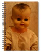 Antique Doll 1 Spiral Notebook