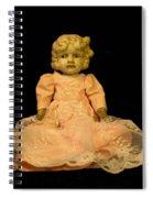 Antique Doll 2 Spiral Notebook