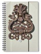 Antique Door Knocker Spiral Notebook