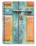 Antique Doors Spiral Notebook