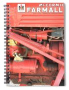 Antique Farmall Cub Engine Spiral Notebook