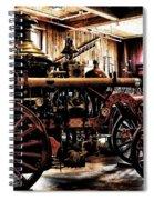 Antique Fire Engine Spiral Notebook