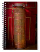 Antique Fire Extinguisher Spiral Notebook