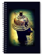 Antique Vintage Fire Hydrant - Multi-colored Spiral Notebook