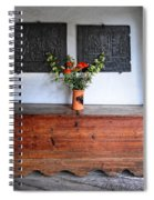 Antique French Chest Spiral Notebook