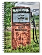 Antique Gas Pump 1 Spiral Notebook