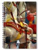 Antique Horse Cart Spiral Notebook