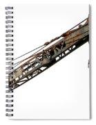 Antique Industrial Hoist Spiral Notebook