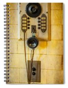 Antique Intercom Spiral Notebook