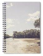 Antique Mangrove Landscape Spiral Notebook