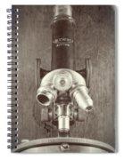 Antique Microscope Spiral Notebook