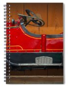 Antique Pedal Car 2 Spiral Notebook
