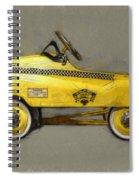 Antique Pedal Car Lll Spiral Notebook