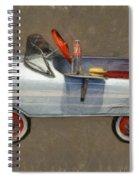 Antique Pedal Car Lv Spiral Notebook