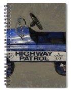 Antique Pedal Car V Spiral Notebook