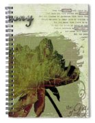Antique Peony Spiral Notebook
