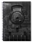 Antique Philco Radio Model 37 116 Bw Merge Spiral Notebook